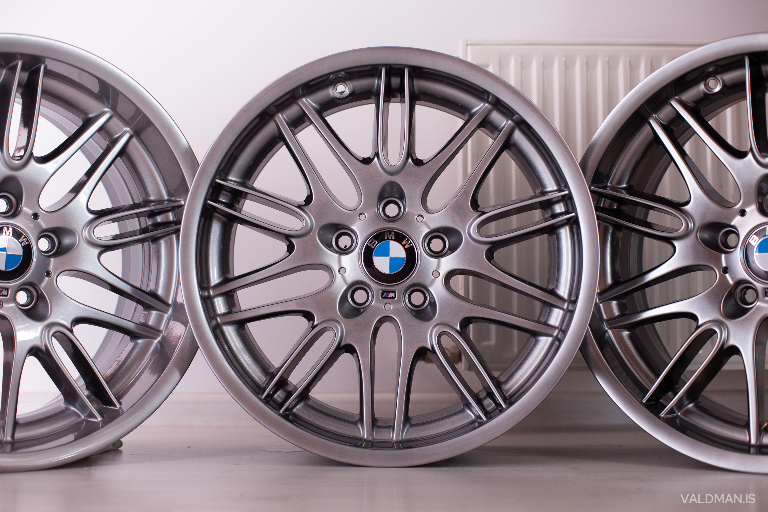 BMW Style 65 Chrome Shadow wheels for BMW M5 E39