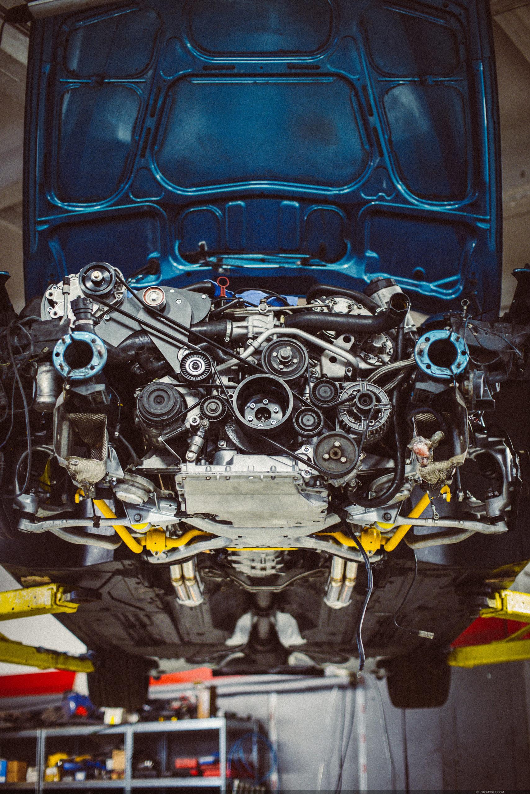 "BMW M5 E39 Touring Wide-Body ESS Supercharged ""Individual Program Atlantis Metallic with Titanic Blau interior. S62 Motor Install with sleeves, balanced crankshaft, balanced piston rods and custom balanced pistons. Workshop @Driftdarbnica, Riga, Latvia"